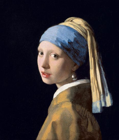 Johannes Vermeer girl with pearl earring 1665
