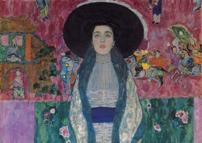 Klimt 1912 closeup