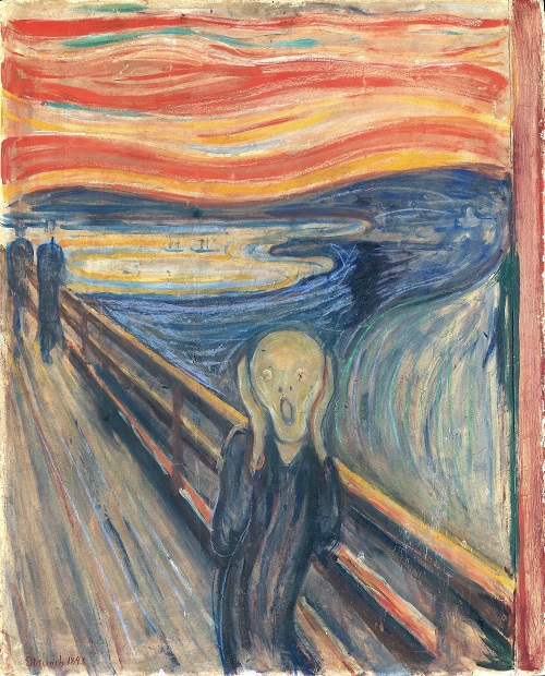 NOR Skrik, ENG The Scream