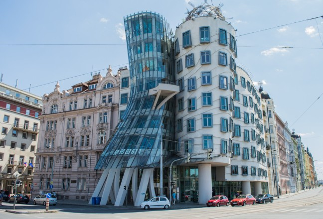 gehry dancing house prague